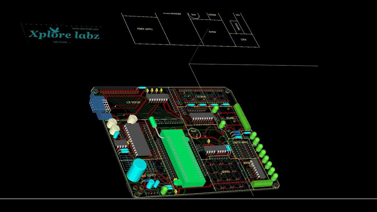 KiCad PCB Design for beginners = kickstarter - YouTube