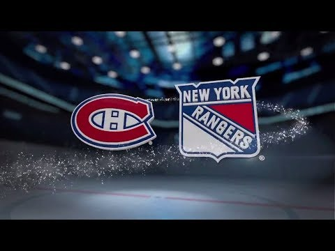 Montreal Canadiens vs New York Rangers - October 8, 2017 | Game Highlights | NHL 2017/18.Обзор матча