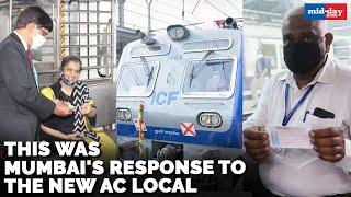 Mumbai's response to Central Railway's new AC local