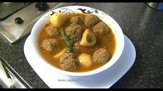 ALOO KOFTA (MINCE BALL) *COOK WITH FAIZA*