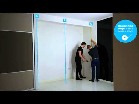 How to measure up for sliding doors