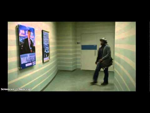 Newsroom funny opening singing scene