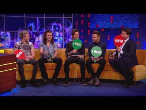 ONE DIRECTION NEVER HAVE I EVER JONATHAN ROSS INTERVIEW | OVER-DUB VERSION