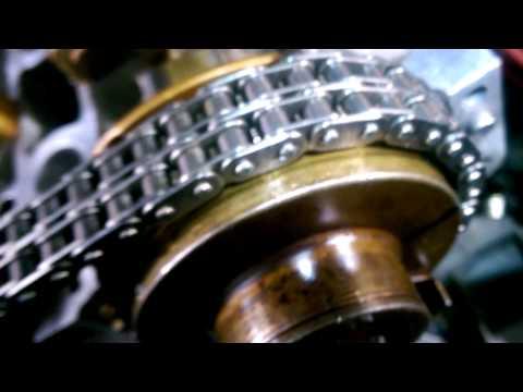 Выставляем ГРМ  мотор  M104