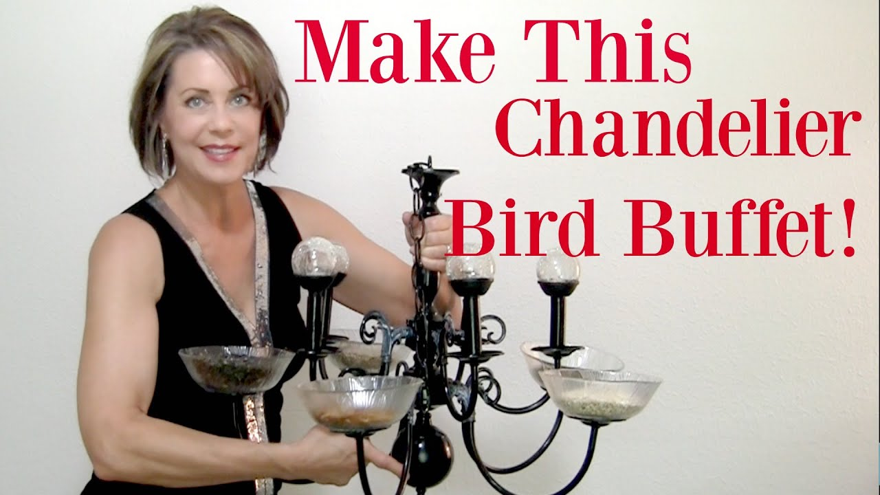 How to make a chandelier bird feeder with heather bloom youtube how to make a chandelier bird feeder with heather bloom arubaitofo Gallery