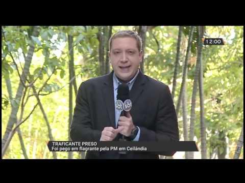Traficante preso em flagrante pela PM em Ceilândia