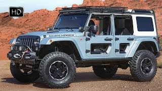 Jeep Switchback  2017 Moab Easter Jeep Safari Concept Interior Exterior Design HD