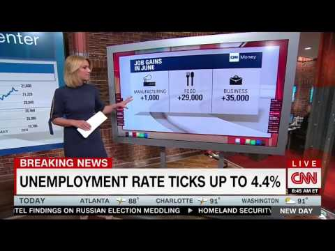CNN's Christine Romans: Jobs Report Shows Strong Growth, More Participation In Job Market