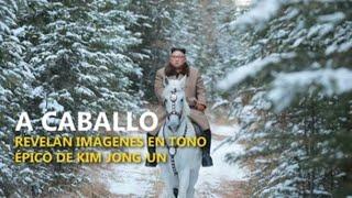 Revelan épicas imágenes de Kim Jong-un