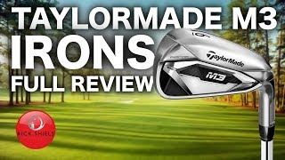 NEW TAYLORMADE M3 IRONS - FULL REVIEW RICK SHIELS