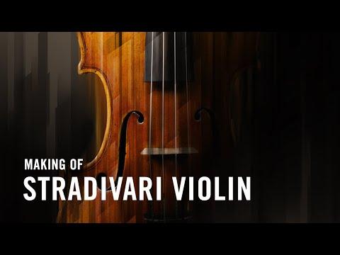 Making STRADIVARI VIOLIN | Native Instruments