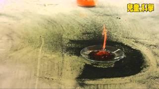 兒童的科學─模擬火山爆發實驗