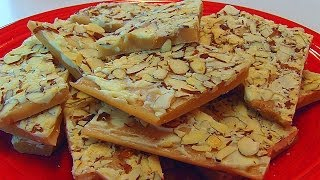 Betty's English Toffee With White Chocolate And Almonds