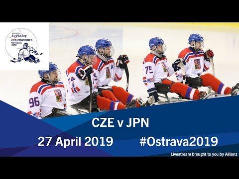 Czech Republic V Japan   2019 World Para Ice Hockey Championships