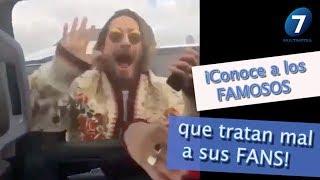 iConoce a los FAMOSOS que tratan mal a sus FANS! / Multimedia 7