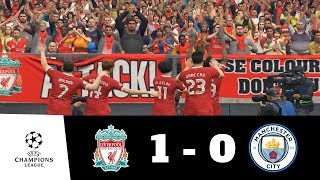 Liverpool vs Manchester City All Goals & Extended Highlights 1080p HD | UEFA CL | PES 2018