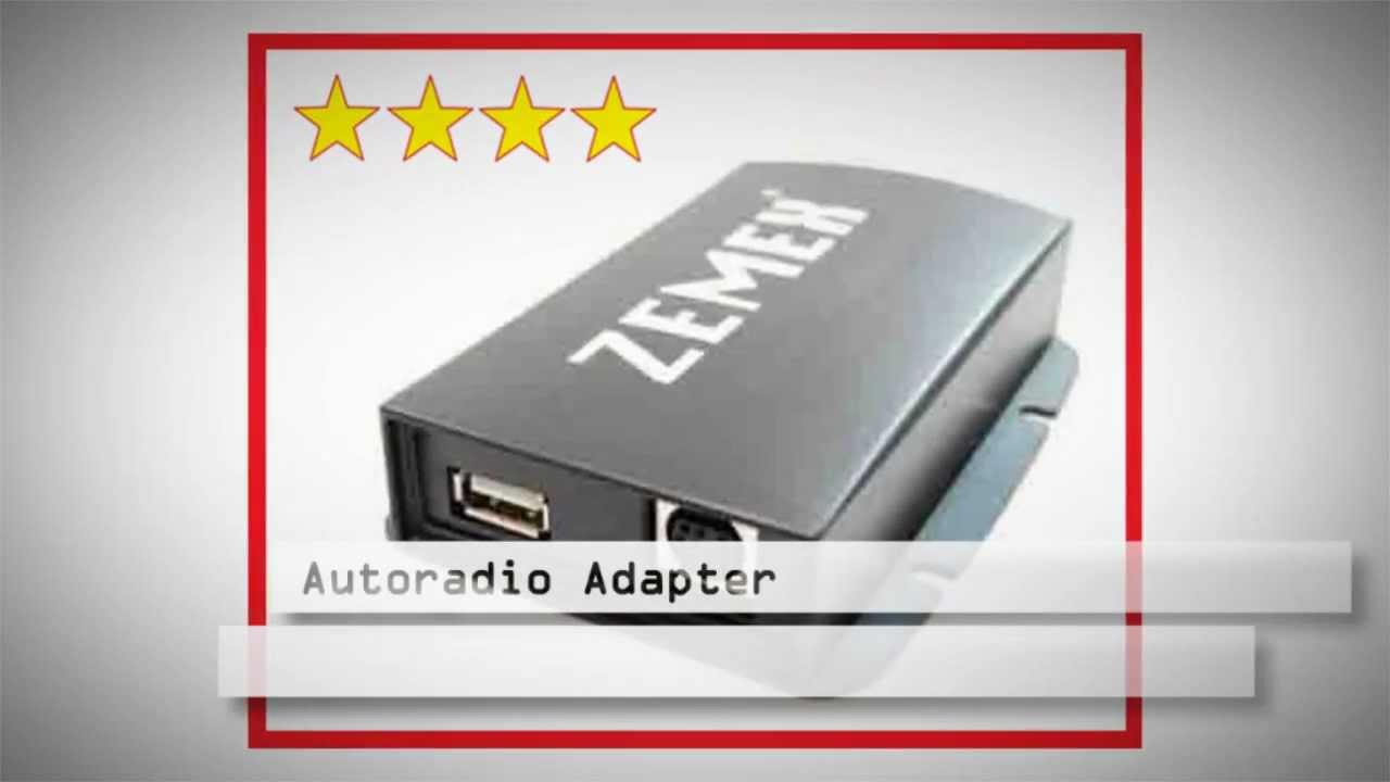 Iphone Autoradio Adapter zemex V3 Rückfahrkamera nachrüsten www ...
