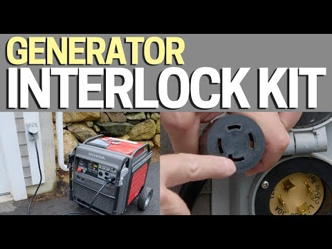 How to hook up generator to house without transfer switch
