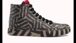 f94665f6d73 450  GUCCI Shoe Sneaker GG Leather Canvas Caleido-Print New ...