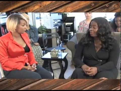 Kim Kimble of LA Hair Interview @ Menzie Salon & Spa