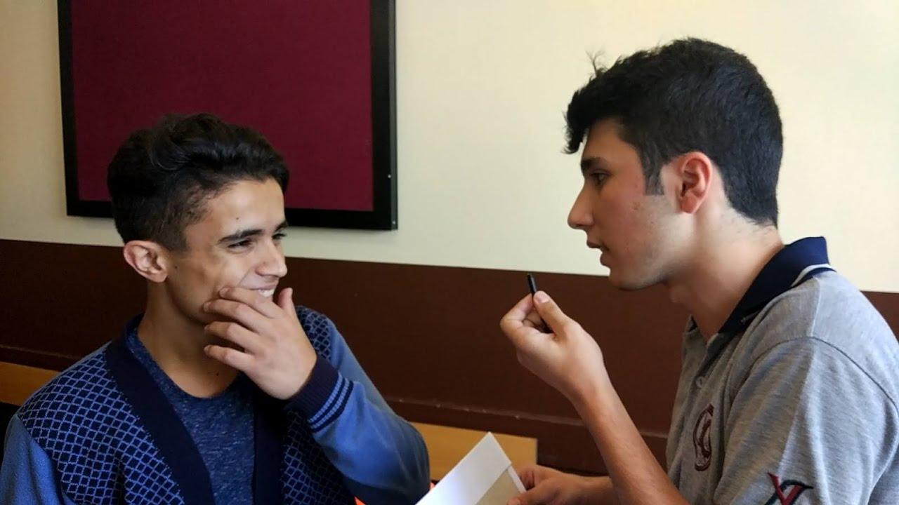 Yalova Anadolu Lisesi'nde Röportaj