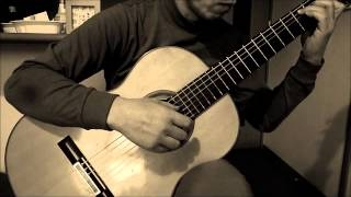 """Promise of world """"世界の約束"""" from Howl's Moving Castle guitar cover by YASUpochiGuitar"""