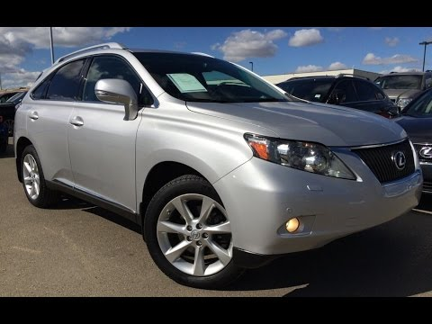 Marvelous Pre Owned Silver 2011 Lexus RX 350 AWD Ultra Premium Package 1 Review |  Bonnyville Alberta   YouTube