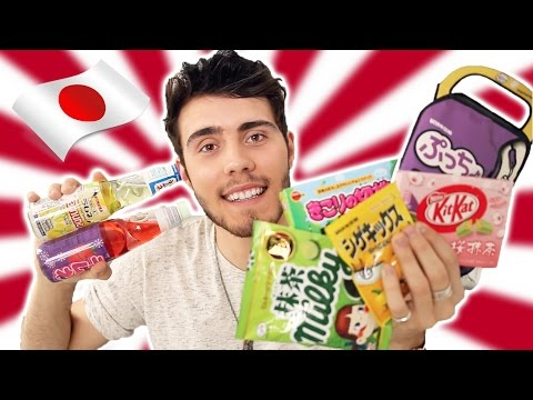 Trying Japanese Candy!