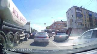 Авария Тверь, пр-т Победы (15.06.16)