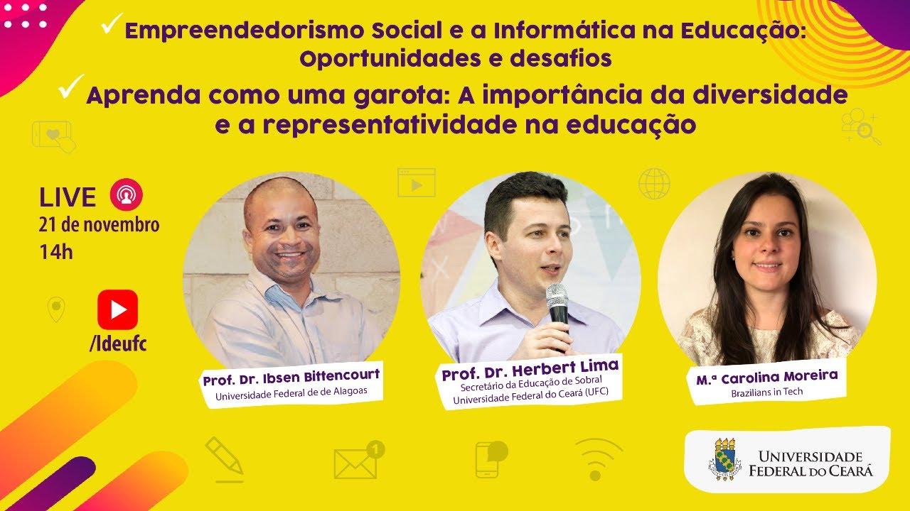[AULA 26] Empreendedorismo social, diversidade e representatividade na educação