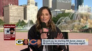 Aaron Jones vs. David Montgomery: Which fantasy RB should you start Week 1?