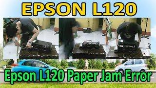 L120 Paper Jam Error