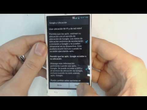 LG Optimus L9 II D605 - How to reset - Como restablecer datos de fabrica