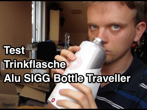test sigg alu bottle traveller 1 0 l trinkflasche sigg