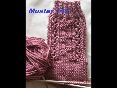 Muster 112 für Socken – Handschuhe – Mütze* Stricken mit Nadelspiel
