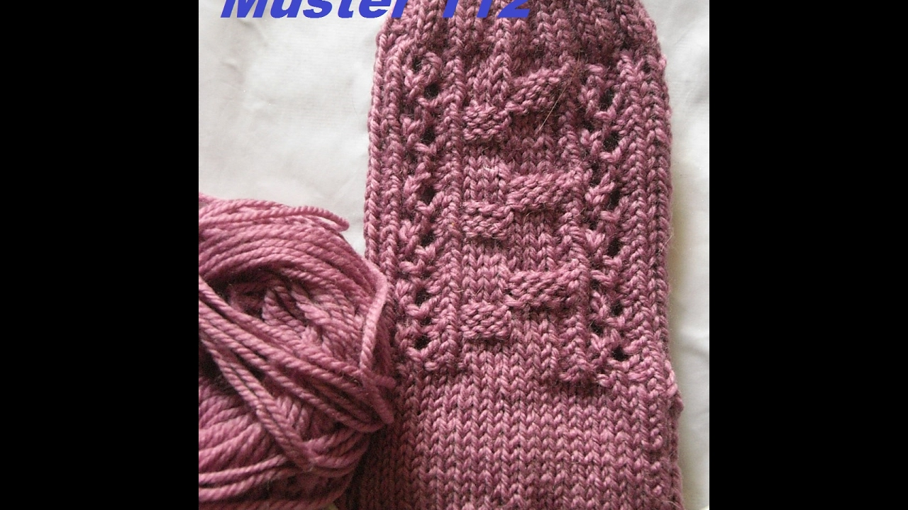 Muster 112 für Socken - Handschuhe - Mütze* Stricken mit Nadelspiel ...