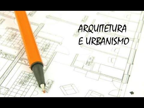 Curso arquitetura e urbanismo