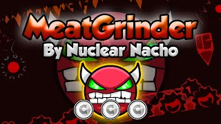 Geometry Dash [2.0] (Easy Demon) - MeatGrinder by Nuclear Nacho - GuitarHeroStyles