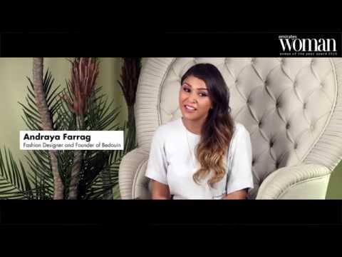 Emirates Woman, Woman Of The Year Awards 2016, Artists Nominee — Andraya Farrag