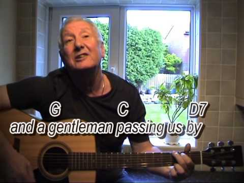 Black Velvet Band -- Dubliners - cover- easy chords guitar lesson ...
