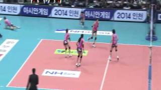 2009 Korea Volleyball Championship Final  - HeungKuk Life Insurance X GS Caltex 5SET [1/2]