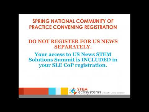 Webinar - The Future of the STEM Learning Ecosystems Initiative