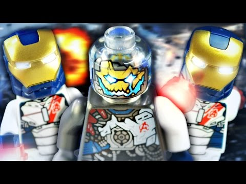 "LEGO Age of Ultron : 76038 ""Attack on Avengers Tower"" - Review"