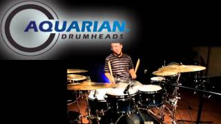 Aquarian Drumheads Hi-Impact, Force Ten & Super Kick 10