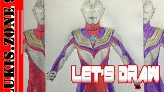 Let's Draw Ultraman Tiga
