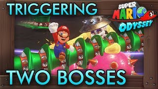 What If You Trigger Two Boss Fights At Once? - Super Mario Odyssey