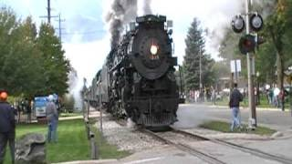 Pere Marquette 1225 & Nickel Plate Road 765 (Cadillac Limited), 10-03-2009 #2