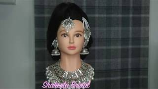 Asian Bridal Hairstyle By Shakeela