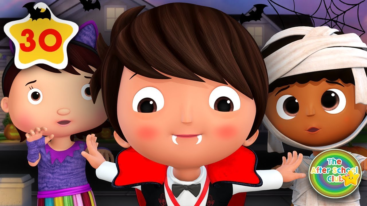 Trick or Treat Halloween Special Compilation | lagu anak | Little Baby Bum