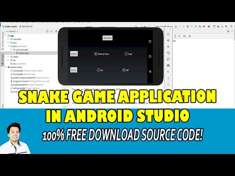 Snake Game App In Android Studio    Free Source Code Download
